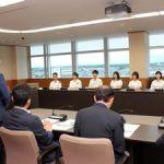 NHK杯全国大会進出の報告で鈴鹿市長を表敬訪問