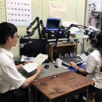 熱中症予防を啓発する校内放送の第2回を行いました