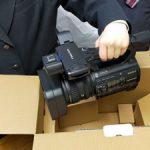 業務用ビデオカメラを追加導入しました