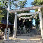 志氐神社を撮影